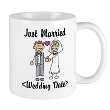 Just Married (Add Your Wedding Date) Mug