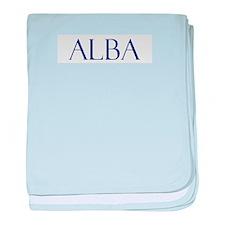 Alba baby blanket