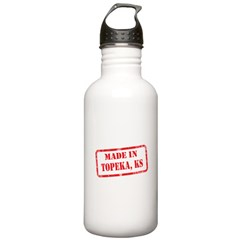 MADE IN TOPEKA, KS Stainless Water Bottle 1.0L