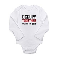 Occupy Together Long Sleeve Infant Bodysuit