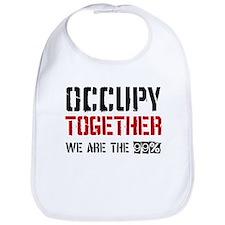 Occupy Together Bib