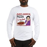 Aunt Mary's Pizza Long Sleeve T-Shirt