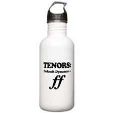 Tenor Gift Funny Quote Water Bottle