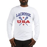 Lacrosse USA Long Sleeve T-Shirt