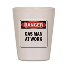 Gas Man Shot Glass