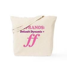 Soprano Music Attitude Tote Bag