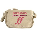Soprano Music Attitude Messenger Bag
