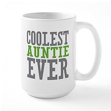 Coolest Auntie Large Mug