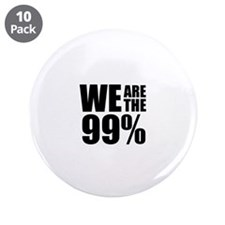 "We Are the 99% 3.5"" Button (10 pack)"