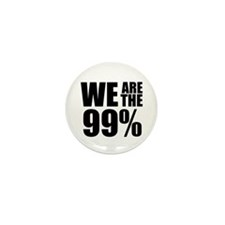 We Are the 99% Mini Button (100 pack)