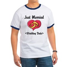 Just Married (Add Your Wedding Date) T