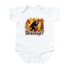 Whats Up Bigfoot Sasquatch Infant Bodysuit