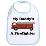 My Daddy's A Firefighter Bib