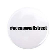 "#occupywallstreet 3.5"" Button (100 pack)"