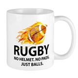 Rugby Just Balls Mug