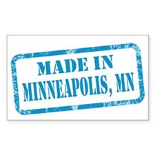 MADE IN MINNEAPOLIS Decal