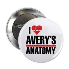 "I Heart Avery's Anatomy 2.25"" Button (100 pack)"