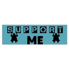 Funny Supporter Bumper Sticker