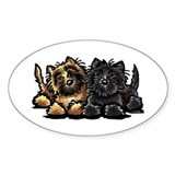 Cairn Terriers Decal