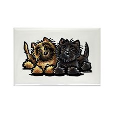 Cairn Terriers Rectangle Magnet (10 pack)