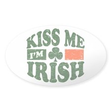 Kiss Me Im Irish Decal