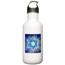 Radiant Magen David Stainless Water Bottle 1.0l