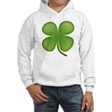 Lucky Irish Four Leaf Clover Hoodie