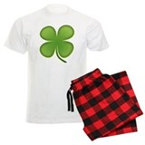 Lucky Irish Four Leaf Clover Pajamas