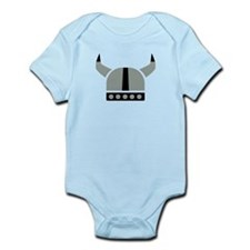 Viking helmet Infant Bodysuit