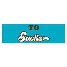 Sucks Bumper Sticker