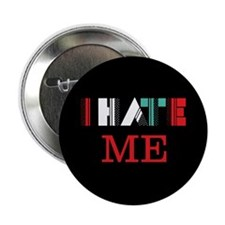 "Cute I hate 2.25"" Button"