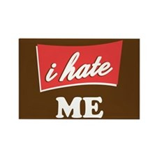 Personalize i hate Rectangle Magnet