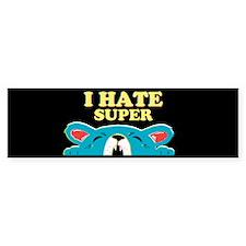 Personalize i hate Bumper Sticker