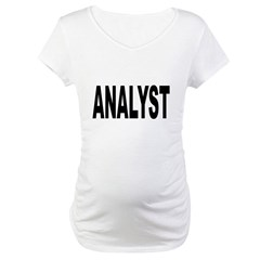 Analyst Maternity T-Shirt