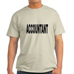 Accountant Light T-Shirt