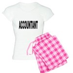 Accountant Women's Light Pajamas