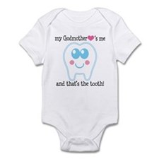 Godmother Hearts Me Infant Bodysuit