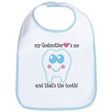 Godmother Hearts Me Bib