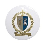 POITIER Family Crest Ornament (Round)