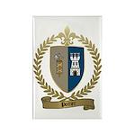 POITIER Family Crest Rectangle Magnet (100 pack)