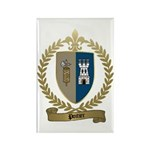 POITIER Family Crest Rectangle Magnet (10 pack)