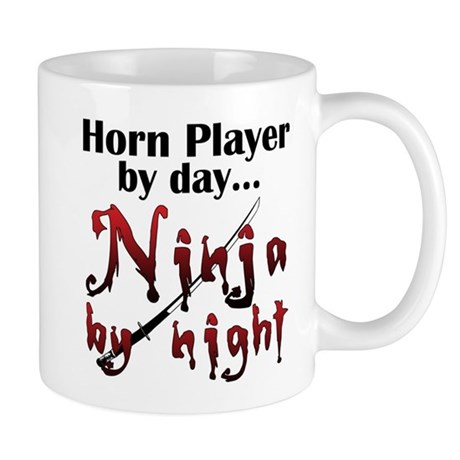 French Horn Ninja Mug