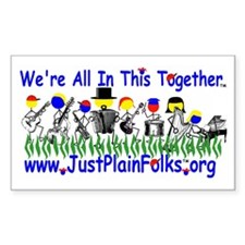 """""""We're All In This Together"""" Decal"""
