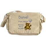 Boy Names Messenger Bag