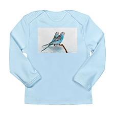 Parakeet Friends Long Sleeve Infant T-Shirt