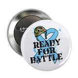 Ready For Battle Prostate Cancer Shirts 2.25&quot; Butt