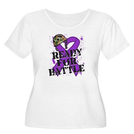Battle Pancreatic Cancer Women's Plus Size Scoop N