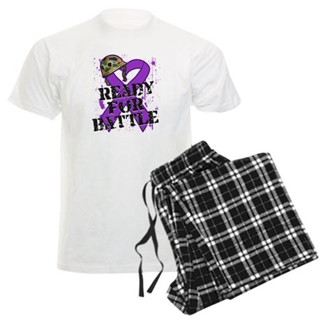 Battle Pancreatic Cancer Men's Light Pajamas