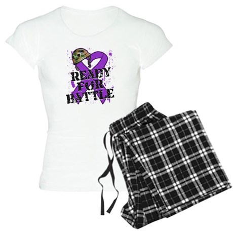 Battle Pancreatic Cancer Women's Light Pajamas