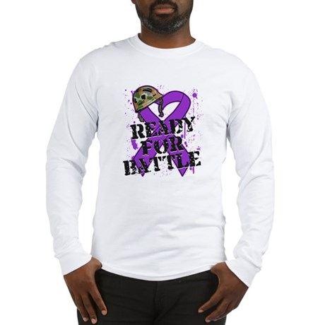 Battle Pancreatic Cancer Long Sleeve T-Shirt